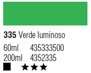 ÓLEO START 200ml 335 VERDE LUMINOSO