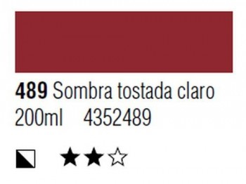 ÓLEO START 200ml 489 SOMBRA QUEMADA CLARO