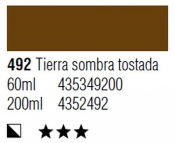 ÓLEO START 200ml 492 TIERRA SOMBRA QUEMADA