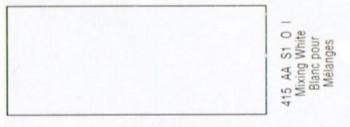 N.415 W&N OLEO GRIFFIN BLANCO PARA MEZCLAR