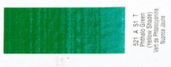 N.521 W&N OLEO GRIFFIN VERDE FTALO SOMBRA AMARILLO