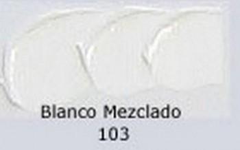 N.103 OLEO REMBRANDT BLANCO MEZCLADO
