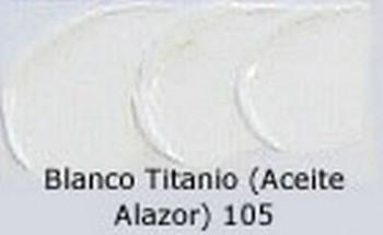N.105 OLEO REMBRANDT BLANCO TITANIO