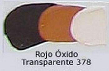 N.378 OLEO REMBRANDT ROJO OXIDO TRANS.
