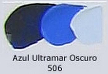N.506 OLEO REMBRANDT AZUL ULTRAMAR OS.