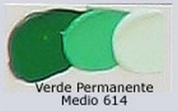 N.614 OLEO REMBRANDT VERDE PERM.MEDIO