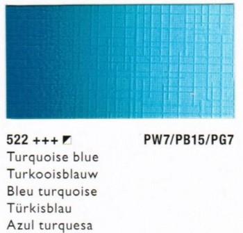 N.522 COBRA STUDY  AZUL TURQUESA