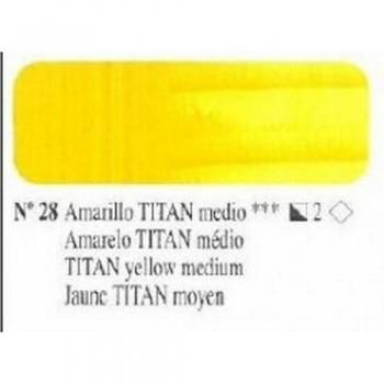 N28 AMARILLO TITAN MEDIO ÓLEO TITÁN EXTRA FINO