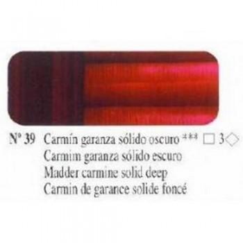 N39 CARMIN GARANZA SOLIDO OSCURO ÓLEO TITÁN EX. FIN.
