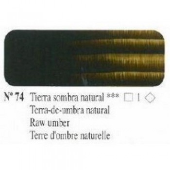 N74 TIERRA SOMBRA NATURAL ÓLEO TITÁN EXTRA FINO