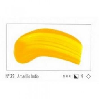 N.25 AMARILLO INDIO ACRILICO EXTRA FINO