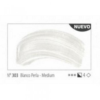N.303 BLANCO PERLA-MEDIUM ACRILICO EXTRA FINO