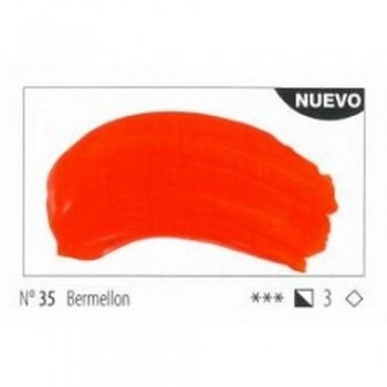 N.35 BERMELLON ACRILICO EXTRA FINO