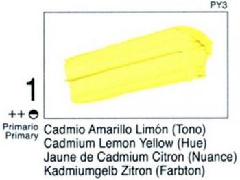 N.001 VALLEJO STUDIO - Cad. Amarillo Limón (Tono)