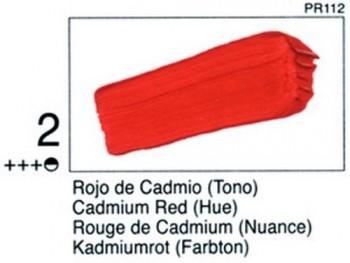 N.002 VALLEJO STUDIO - Rojo Cadmio (Tono)
