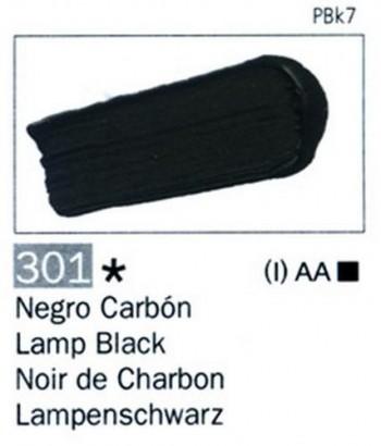N.301 VALLEJO ARTIST Negro Carbón