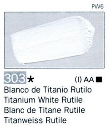 N.303 VALLEJO ARTIST Blanco Titanio Rutilo