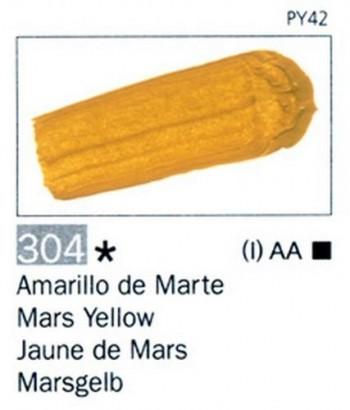 N.304 VALLEJO ARTIST Amarillo de Marte