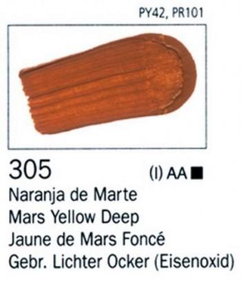 N.305 VALLEJO ARTIST Naranja de Marte