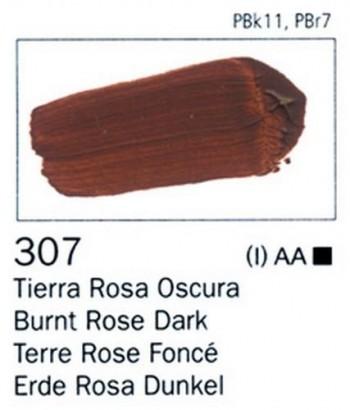 N.307 VALLEJO ARTIST Tierra Rosa Oscura