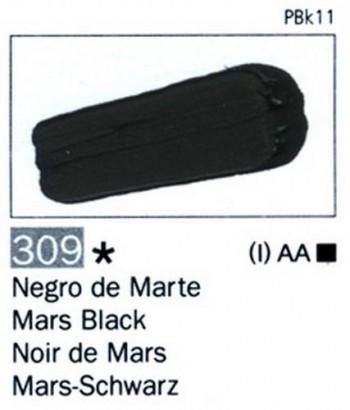 N.309 VALLEJO ARTIST Negro de Marte