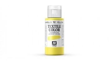 N.012 VALLEJO TEXTIL- Amarillo (Opaco) - Basic Color