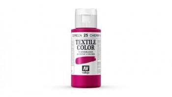 N.025 VALLEJO TEXTIL- Cereza - Basic Color