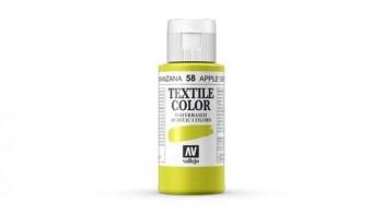 N.058 VALLEJO TEXTIL- Verde Manzana - Basic Color