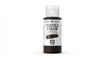 N.069 VALLEJO TEXTIL- Negro (Opaco) - Basic Color
