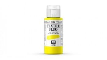 N.509 VALLEJO TEXTIL- Amarillo - Fluorescent Color