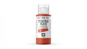 N.510 VALLEJO TEXTIL- Rojo - Fluorescent Color