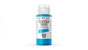 N.511 VALLEJO TEXTIL- Azul - Fluorescent Color
