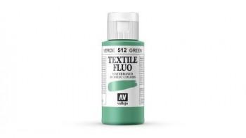 N.512 VALLEJO TEXTIL- Verde - Fluorescent Color