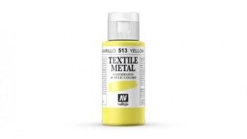 N.513 VALLEJO TEXTIL- Amarillo - Metallic Color