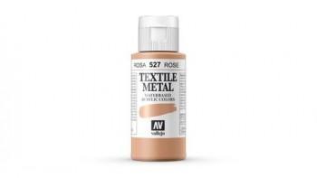 N.527 VALLEJO TEXTIL- Rosa - Metallic Color