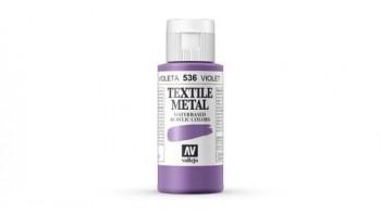 N.536 VALLEJO TEXTIL- Violeta - Metallic Color