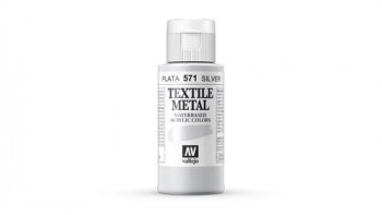 N.571 VALLEJO TEXTIL- Plata - Metallic Color
