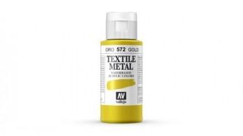 N.572 VALLEJO TEXTIL- Oro - Metallic Color