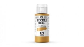 N.573 VALLEJO TEXTIL- Cobre - Metallic Color