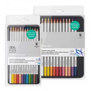 W&N PRECISION WATERCOLOUR PENCIL SET