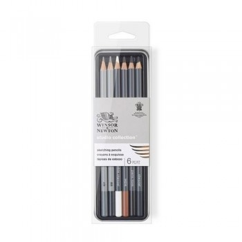 W&N SKETCHING PENCIL TIN SET