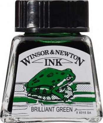 N.046 W&N TINTA 14ml VERDE BRILLANTE